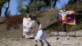 Activists disrupt Olympic flame-lighting ceremony in Greece