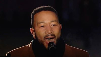 John Legend and others unite for powerful 'Imagine' performance at Tokyo Olympics