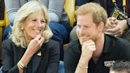 Prince Harry Teams Up With FLOTUS Jill Biden To Honor Warrior Game Athletes