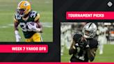 Yahoo DFS Picks Week 7: NFL DFS lineup advice for daily fantasy football GPP tournaments