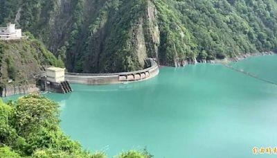 璨樹颱風來襲 德基水庫調節水量拚滿水位