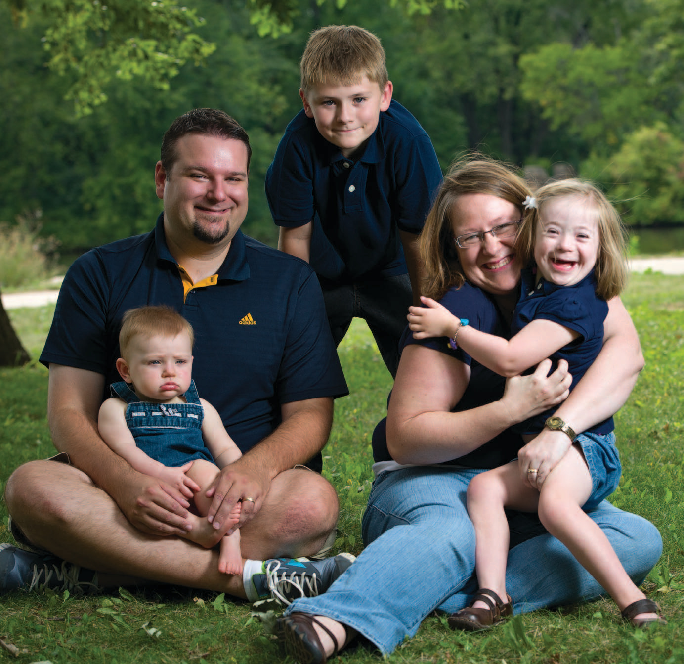 Michelle and Matthew Odland family, Wausau