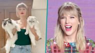 Taylor Swift Pokes Fun At Herself For Being a Cat Lady In Hilarious TikTok Video