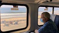 Kayaking and cat therapy on a Santa Barbara getaway by train