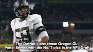 Meet Detroit Lions draft pick Penei Sewell