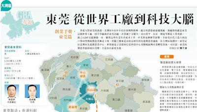大灣區GBA專題:東莞 從世界工廠到科技大腦