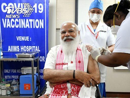 印度第二階段疫苗接種開始 總理莫迪帶頭施種首劑│TVBS新聞網