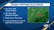 Pair from Thornton killed in motorcycle crash