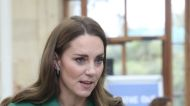 Kate Middleton Paired a Statement Coat with a Matching Sweater