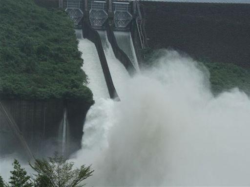 台南暴雨進帳驚人!曾文、烏山頭4水庫總蓄水量6.2億噸