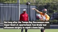 Tom Brady played entire 2020 season with knee injury that eventually required surgery