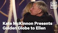 Ellen DeGeneres Accepts Carol Burnett Award at 2020 Golden Globes | NowThis