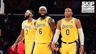"""Shannon Sharpe: Lakers looked like a """"fire drill"""" while debuting new Big 3 in loss to Warriors I UNDISPUTED"""