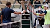 Tennis Players at French Open Startled by Sonic Boom as Fighter Jet Breaks Sound Barrier