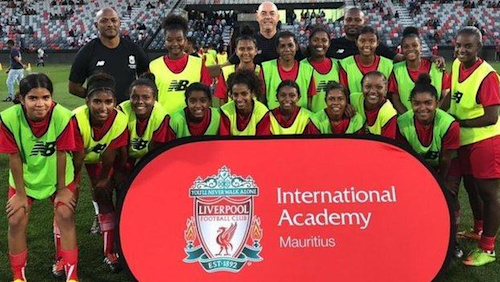 Liverpool launch international football academy in Mauritius