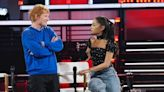 'The Voice': Ariana Grande and Ed Sheeran Catch Up on Married Life