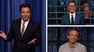 Fallon, Colbert and more roast new astronaut Jeff Bezos