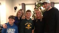 Boys whose father died suddenly get surprise visit from NFL star