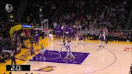 Landry Shamet with a buzzer beater vs the Los Angeles Lakers