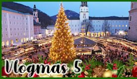 Austria & Germany at Christmas!! Salzburg & Munich Travel #Vlogmas