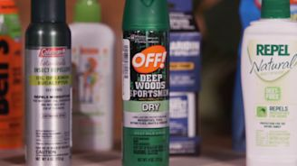 Top-performing insect repellents