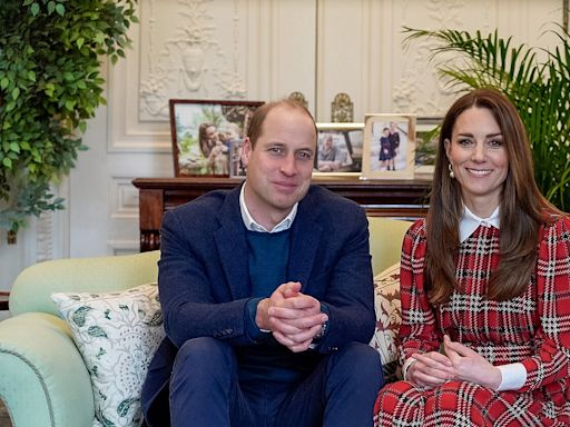 Kate Middleton and Prince William Have a Sweet Reminder of Their Kids in New Work-from-Home Space