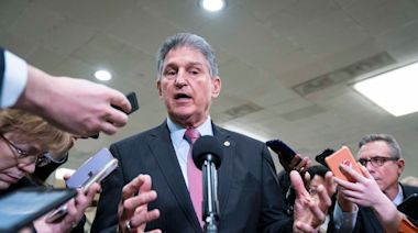 Manchin says Senate should consider using 14th Amendment to remove Hawley and Cruz over their objections to Electoral College votes