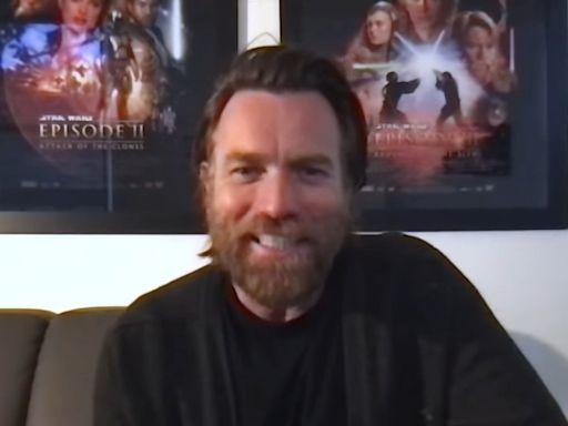 Star Wars: Ewan McGregor teases 'special' mystery cameo in Obi Wan Kenobi series