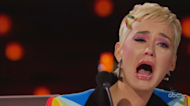 Katy Perry ugly cries during 'Idol' proposal: 'Why won't someone love me like that?'