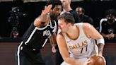 Watch Kyrie Irving score 45, but balanced Mavericks attack gets win