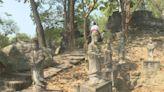 石壁浮雕佛像「台版吳哥窟」 藏身楠西佛寺後院