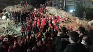 Woman Pulled From Rubble as Rescues Continue Following Turkey Earthquake