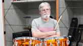 Drum kit restored to pristine condition