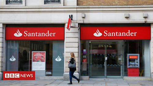 Santander banking services working again after day of technical problems