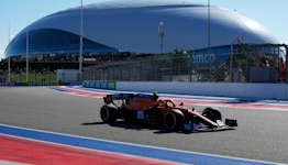 Lando Norris claims an unexpected pole position for the Russian Grand Prix