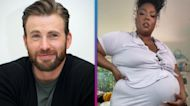 Lizzo Fakes Pregnant Belly After Seeing What Her Children With Chris Evans Would Look Like