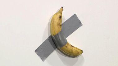 Artist sells banana duct-taped to wall for $120,000 at Art Basel