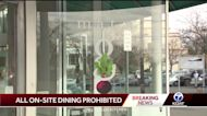 Governor prohibits on-site dining for two weeks