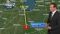 3.8-magnitude earthquake hits western Indiana, felt in Chicago