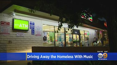 Local Stores Play Music Nonstop To Keep Homeless At Bay With Mixed Results