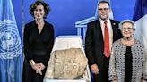 組圖:收藏家將瑪雅石碑贈與危地馬拉政府