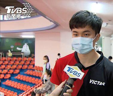 奪冠「只用1球」!林昀儒因對手傷退 男單摘金│TVBS新聞網