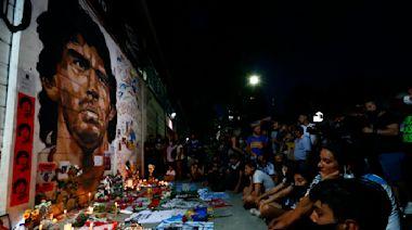 Football united in grief as 'greatest of them all' Diego Maradona dies aged 60