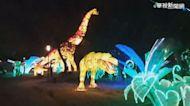 侏羅紀! 15米高恐龍現身台灣燈會