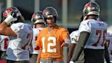 Tom Brady's Knee Feels Fine, Happy to Be Back to Work | Sports News | US News