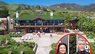 Pierce Brosnan is selling his $100 million Malibu mansion inspired by one of his James Bond movies. Take a look inside.