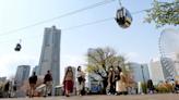日本第一座穿過都市的纜車就在橫濱港未來21區 - 癮科技 Cool3c