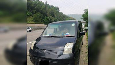 私家車吐露港公路行車不穩被截 迷幻司機涉3罪被捕