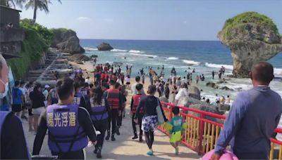小琉球8潛水客體力不支 海巡救援全數獲救