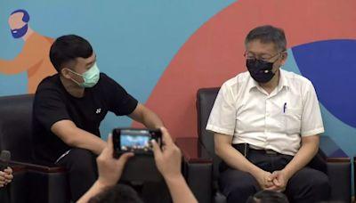 王齊麟下戰帖切磋羽球 柯文哲怕21:0被慘電-台視新聞網